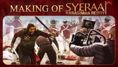 Photo of Sye Raa Narasimha Reddy Making Video Chiranjeevi, Amitabh Bachchan | Ram Charan | Surender Reddy