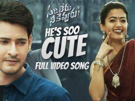 He's Soo Cute Full Video Song Download